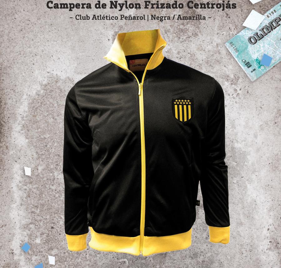 Campera Nylon Frizado Centrojás Club Atlético Peñarol