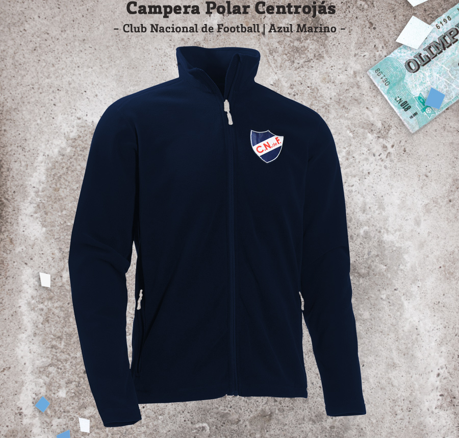 Campera Polar Centrojás Club Nacional de Football
